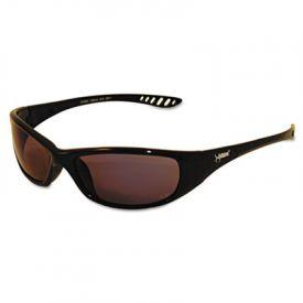Jackson Safety* V40 HellRaiser Safety Glasses, Black Frame/Smoke Lens, UV