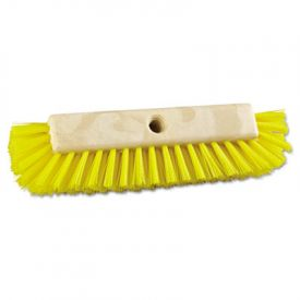 Boardwalk® Dual-Surface Scrub Brush, Plastic, 10