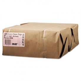 General Grocery Paper Bags, 57-lb, Brown Kraft, 6-1/8 x 4.17 x 12-7/16