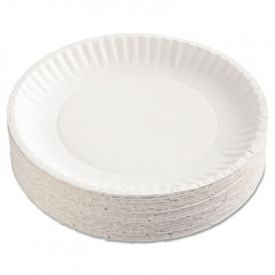 AJM Packaging Corporation Gold Label Coated Paper Plates, 9
