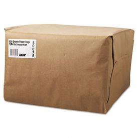 General Grocery Paper Bags, 52-lb. , Brown Kraft, 12 x 7 x 17