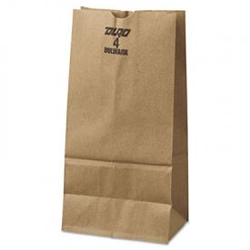 General Grocery Paper Bags, 50-lb. , Brown Kraft, 5 x 3.33 x 9-3/4,