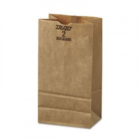 General Grocery Paper Bags, 50-lb, Brown Kraft, 4-5/16 x 2-7/16 x 7-7/8