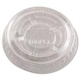 Dart® Portion/Soufflé Cup Lids, Clear