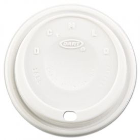 Dart® Cappuccino Dome Sipper Lids, Fits 12-24oz Cups
