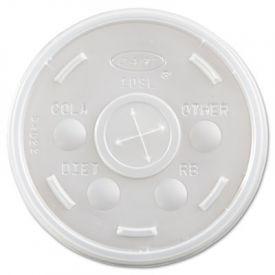 Dart® Plastic Cold Cup Lids, Fits 10oz Cups, Translucent