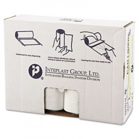 Inteplast Group HD Interleaved Can Liners, 43 x 48, 60-Gallon, 17 Microns