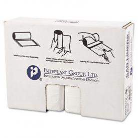 Inteplast Group HD Interleaved Can Liners, 33 x 40, 33-Gallon, 17 Microns