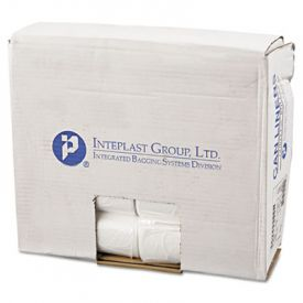 Inteplast Group High-Density Can Liners, Perforated Roll, 12-16 Gal, 24 x 33