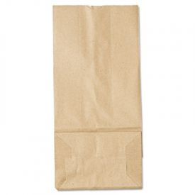 General Grocery Paper Bags, 35-lb, Brown Kraft, 5-1/4 x 3-7/16 x 10-15/16