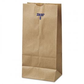 General Grocery Paper Bags, 35-lb, Brown Kraft, 6-1/8 x 4.17 x 12-7/16