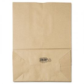 General Grocery Paper Bags, 75-lb. , Brown Kraft, 12 x 7 x 17