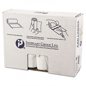 Inteplast Group HD Interleaved Can Liners, 40 x 48, 45-Gallon, 16 Microns