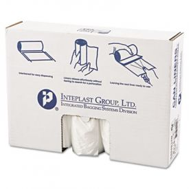 Inteplast Group HD Interleaved Can Liners, 40 x 48, 45-Gallon, 12 Microns