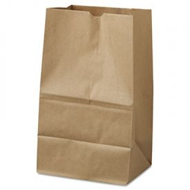 General Grocery Paper Bags, 40-lb, Brown Kraft, 8-1/4x5-15/16x14-3/8