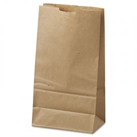 General Grocery Paper Bags, 35-lb, Brown Kraft, 6 x 3-5/8 x 11-1/16