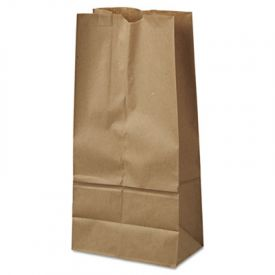 General Grocery Paper Bags, 40-lb, Brown Kraft, 7-3/4 x 4-13/16 x 16