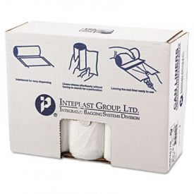 Inteplast Group HD Interleaved Can Liners, 40 x 48, 45-Gallon, 17 Microns