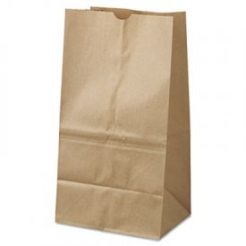 General Grocery Paper Bags, 40-lb, Brown Kraft, 8-1/4x6-1/8x15-7/80