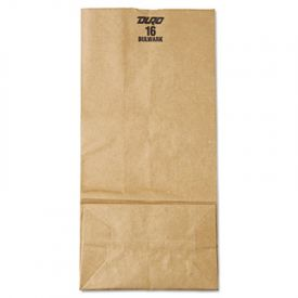 General Grocery Paper Bags, 57-lb , Brown Kraft, 7-3/4 x 4-13/16 x 16