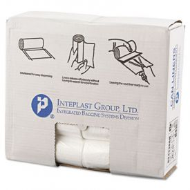 Inteplast Group High-Density Can Liners, 24 x 33, 16-Gallon, 6 Microns
