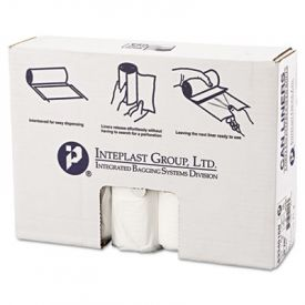 Inteplast Group HD Interleaved Can Liners, 33 x 40, 33-Gallon, 16 Microns