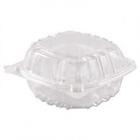 Dart® ClearSeal; Lid Plastic Containers, 6 x 5-4/5 x 3