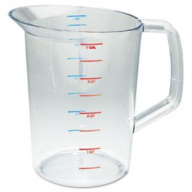 Rubbermaid® Commercial Bouncer® Measuring Cup, 4qt, Clear