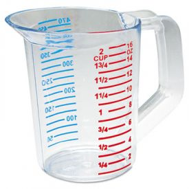 Rubbermaid® Commercial Bouncer® Measuring Cup, 16oz, Clear