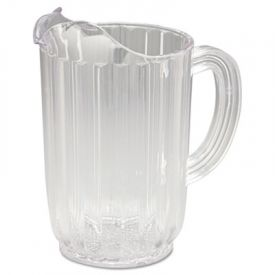 Rubbermaid® Commercial Bouncer® Plastic Pitcher, 32oz, Clear