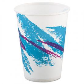 SOLO® Cup Jazz Waxed Paper Cold Cups, 9 oz