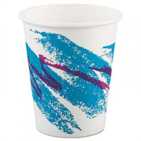SOLO® Cup Jazz Paper Hot Cups, 10 oz., Polycoated