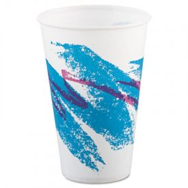 SOLO® Cup Jazz Waxed Paper Cold Cups, 12 oz