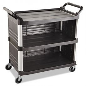 Rubbermaid® Commercial Xtra™ Utility Cart, 300-lb Cap., 20w x 40 5/8d x 37 4/5h
