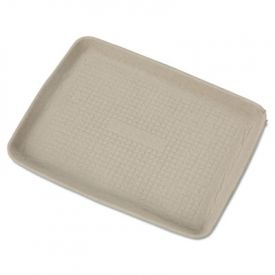Chinet® StrongHolder Molded Fiber Food Trays, 9 x 12