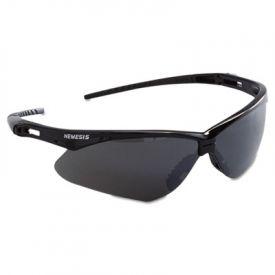 Jackson Safety* Nemesis Safety Eyewear, Black Frame, Smoke Lens