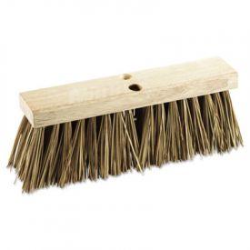 Boardwalk® Street Broom Head, 16 in Head, Palmyra Bristles