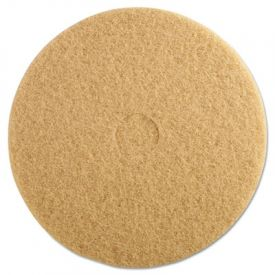 3M Ultra High-Speed Burnishing Floor Pads 3400, 20-Inch, Tan