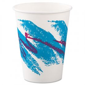 SOLO® Cup Jazz Design Paper Hot Cups, 12 oz., Polycoated