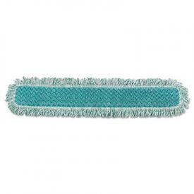 Rubbermaid® HYGEN Dry Dusting Mop Heads, 36 in., Microfiber, Green