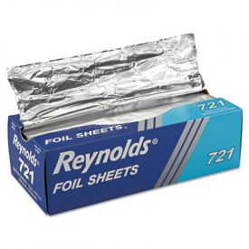 Reynolds Wrap® Interfolded Aluminum Foil Sheets, 12 x 10 3/4, Silver
