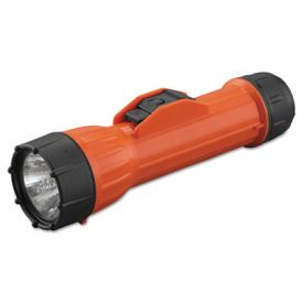 Bright Star® WorkSafe™ Waterproof Flashlight, Orange/Black