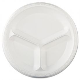 Genpak® Elite Laminated Foam Plate, 10 1/4