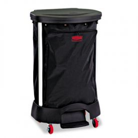 Rubbermaid® Commercial Premium Step-On Linen Hamper Bag
