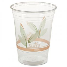 SOLO® Cup RPET Cold Cups, 16-18 oz, 50/Pack