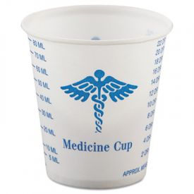 SOLO® Cup Paper Medical & Dental Graduated Cups, 3 oz.