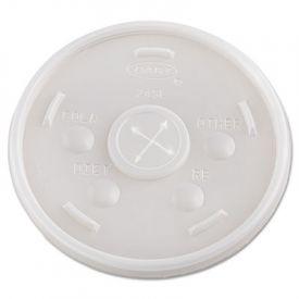 Dart® Plastic Cold Cup Lids, 24oz, Translucent