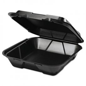 Genpak® Snap It Lid Foam Food Container, 9-1/4x9-1/4x3