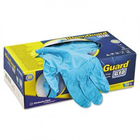 KleenGuard* G10 Blue Nitrile Gloves, Powder-Free, Blue, Medium