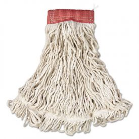 Rubbermaid® Commercial Web FootWet Mop, Cotton/Synthetic, Large